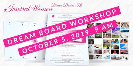 Inspired Women DREAM BOARD Workshop tickets