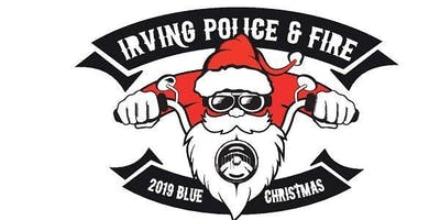 Irving Police and Fire Blue Christmas Toy Run - Poker Run