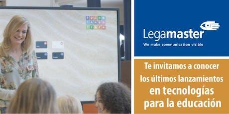 Presentación Legamaster: Tecnologías y usos en la educación entradas