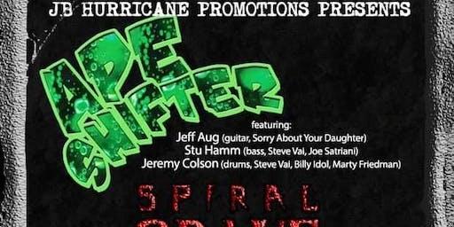 APE SHIFTER w/ SPIRAL GRAVE + ALMOST HONEST + 10DRILZ Live at Cafe 611