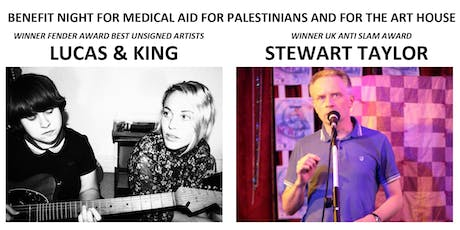 Benefit Night for Medical Aid for Palestinians and for The Art House tickets
