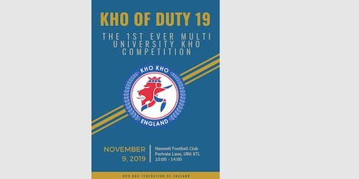 Kho of Duty 2019