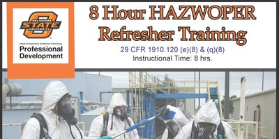 8 Hour HAZWOPER Refresher Training