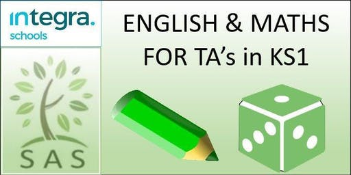 CPD for TAs - English and Maths in KS1