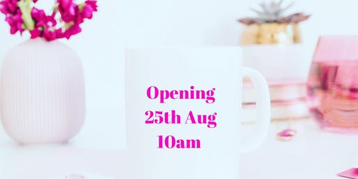 Launch Day Event - Pink Inc Cafe