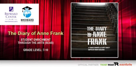 Diary of Anne Frank tickets