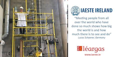Engineering Abroad - IAESTE & Engineers Ireland tickets
