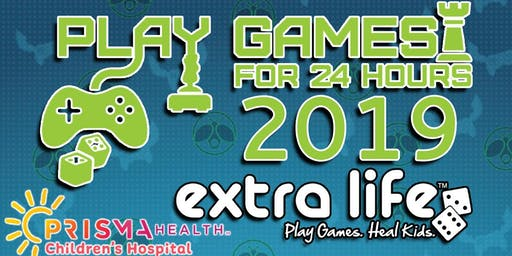 Extra Life 2019: 24 hrs of Gaming for Charity