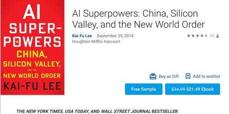 The US is hastening its own decline in AI, says top Chinese investor Kai-Fu tickets
