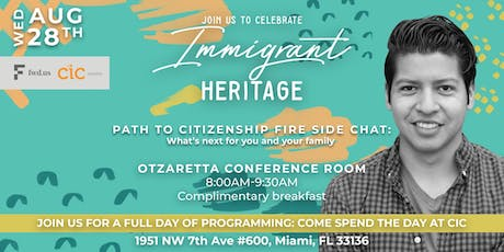 Fireside Chat: Path to Citizenship - What's next for you and your family? tickets