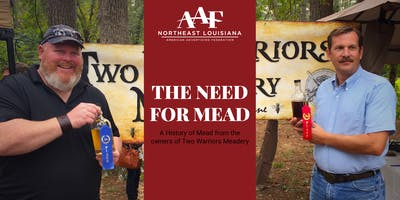 September Luncheon - THE NEED FOR MEAD