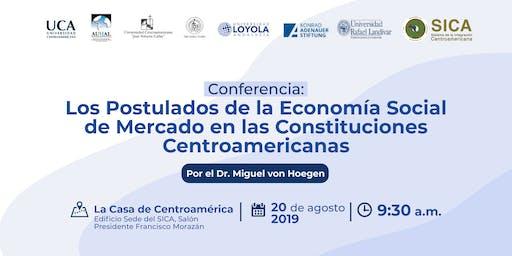 La Economía Social de Mercado en las Constituciones Centroamericanas