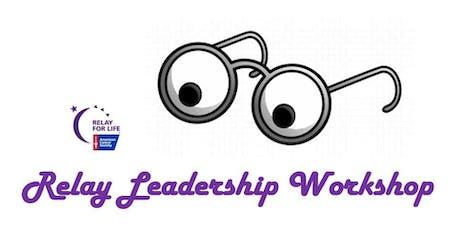 Relay Leadership Workshop tickets