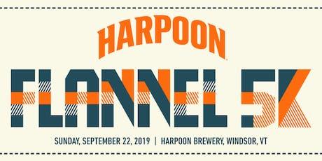 Harpoon Flannel 5K tickets