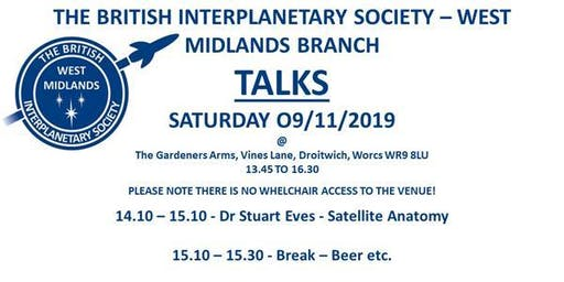 BIS West Midlands Branch Talks
