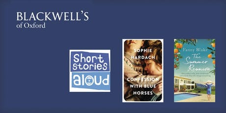 Short Stories Aloud with Sophie Hardach and Fanny Blake tickets
