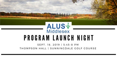 ALUS Middlesex Launch Night tickets