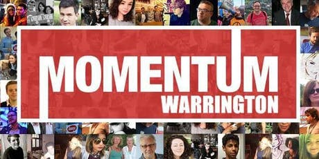 Warrington Momentum All Members Meeting tickets