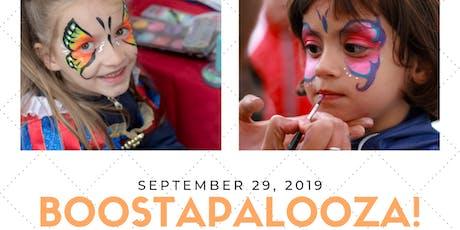 BOOSTAPALOOZA! tickets