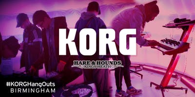 KORG HangOut Synth Event