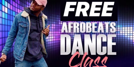 FREE Afrobeats Dance Class With PINKHAT tickets