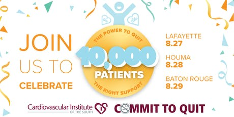 Commit to Quit:10,000 Patients Celebration Houma tickets
