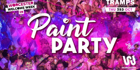 Welcome Week Paint Party! tickets