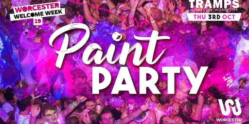 Welcome Week Paint Party!