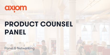 Product Counsel Panel tickets