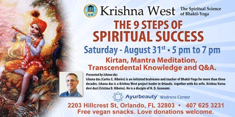 The 9 steps of Spiritual Success tickets