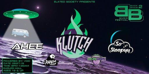 Back 2 Bellingham Presents: Klutch & AHEE