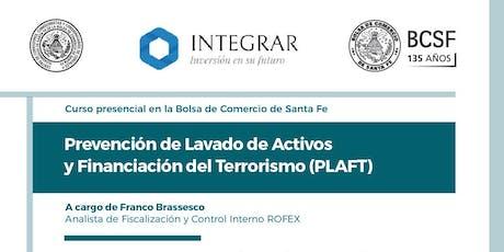 Curso de Prevención de Lavado de Activos y Financiamiento del Terrorismo entradas