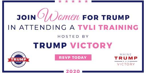 Waterville- Trump Victory Women Voter Registration Kickoff Training