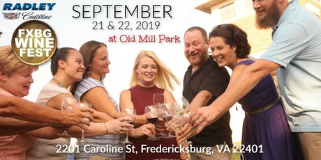 FXBG WINE FEST XXIX tickets