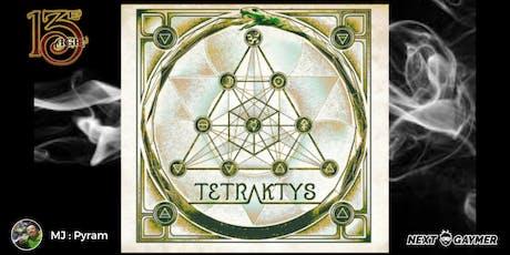13e Age - Tetraktys - par Pyram billets