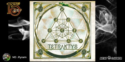 13e Age - Tetraktys - par Pyram