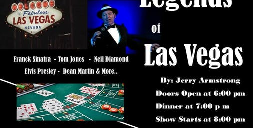 Legends of Las Vegas by Jerry Armstrong