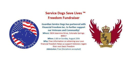 Service Dogs Save Lives ™ Freedom Fundraiser