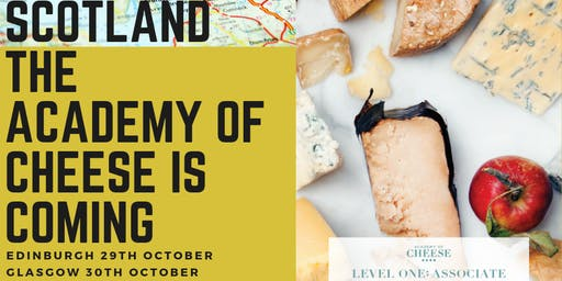 Edinburgh Academy of Cheese Level 1 with Turnbulls Food & Drink Events