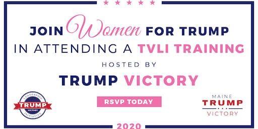 Wells- Trump Victory Women Kickoff Training