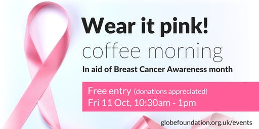 Wear It Pink! coffee morning