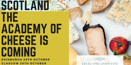 Glasgow Academy of Cheese Level 1 with Turnbulls Food & Drink Events tickets