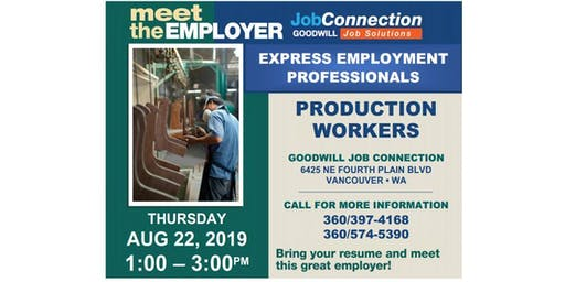 Hiring Event - Vancouver - 8/22/19