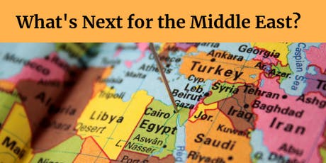 Civil Wars: The Future of the Middle East and Implications for Global Security, Featuring Ross Harrison tickets