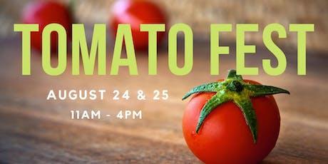 Tomato Festival at Wilson Farm tickets