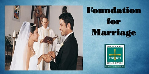 Foundation for Marriage (January 25)