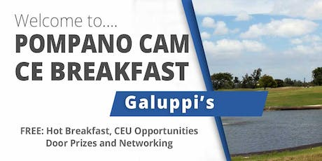 November 2019 CE Breakfast at Pompano Galuppi's tickets