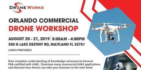 LIVE Part 107 Drone Class at Cohen Law Firm 350 N Lake Destiny Rd | 350 North Lake Destiny Road | Maitland, FL 32751 tickets