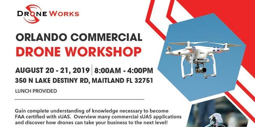 LIVE Part 107 Drone Class at Cohen Law Firm 350 N Lake Destiny Rd | 350 North Lake Destiny Road | Maitland, FL 32751