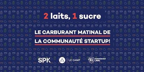 2 laits, 1 sucre — Matinée startups avec OfficiumLIVE billets